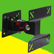 1PC Black Ge One LCD TV Mounts LED LCD TV Wall Hanging 90 Angle Clip convenience Bracket Rotate bracket display stand(China)