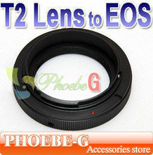 100% New & Wholesale Mount Adapter Ring T2 T mount Lens to Canon EF 500D 7D 50D 1000D Adapter Free Shipping(China)