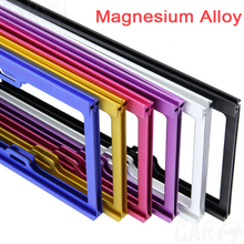 Car Styling Car license frame magnesium alloy plate frame car license plate frame license plate frame