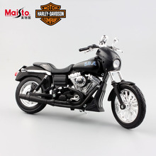 1:12 Scale Maisto Kids Sons of Anarchy Harley 2006 FXDBI DYNA STREET BOB Motor bike die cast motorcycle race car toys for child
