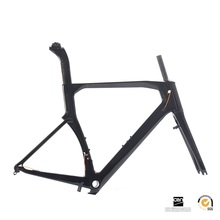 45-60cm T700 Carbon Road Frameset TRP Brake OEM Factory Race Bike Frame+Fork+Post+Clamp(China)