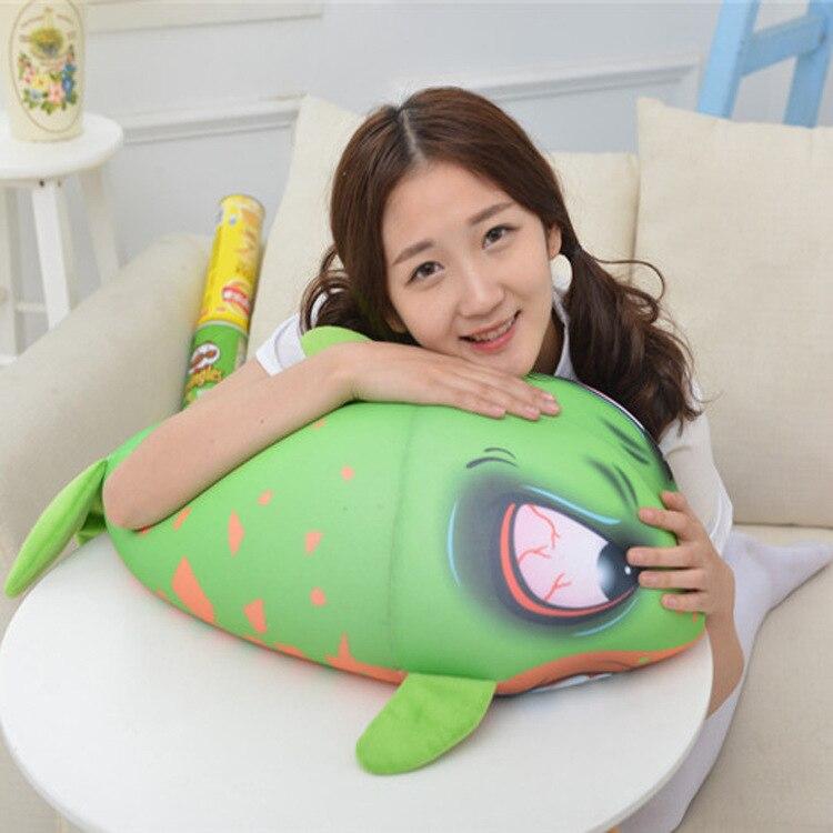 [ 4 Color 60Cm ]Carton plush Angry shark stuffed toy doll baby girl boy birthday gift creative animal home decoration<br>