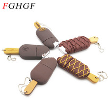 FGHGF usb flash drive cartoon ice cream 4g 8g 16g small Popsicle pen drive 16g pendrive flash card flash memory stick(China)