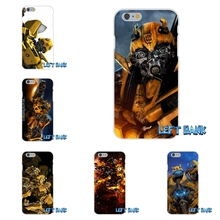 Cool Bumblebee Transformer Soft Silicone TPU Transparent Phone Cover Case For HTC One M8 M9 A9 Desire 630 530 626 628 816 820