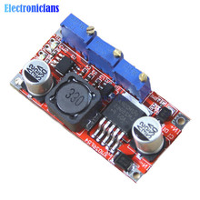 LM2596 DC 5-35V to 1.25-30V Step-down Adjustable CC/CV Power Supply Module Lithium Battery Charger LED Driver Board