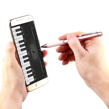 Universal USB Charging Metal Pen Active Capacitive Screen Stylus Tablet Accessories Touch pen For iPhone iPad Samsung Tablets PC(China)