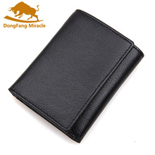 Buy Brand men wallets dollar price purse Genuine leather wallets card holder designer clutch business mini wallet RFID wallet for $12.28 in AliExpress store