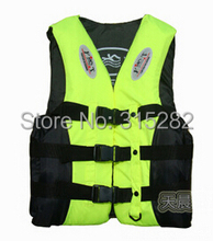 2016 ebay  Free shipping Outdoor Professional Swimwear And Swimming jackets Life Jacket Water Sport Survival Dedicated Life Vest