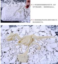 Children favorite toy gift Series educational birthday christmas Archaeological excavation Jurassic Period Dinosaur model 1pc(China)