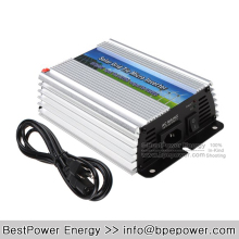 Solar PV On Grid Inverter DC10.5-28V to AC180~260V 300W 500w 600w Grid Tie Micro Inverter Suitable for 300-420W 18V PV Module