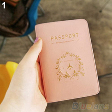 Travel Utility Simple Passport ID Card Cover Holder Case Skin PVC 01WE 4N8Z