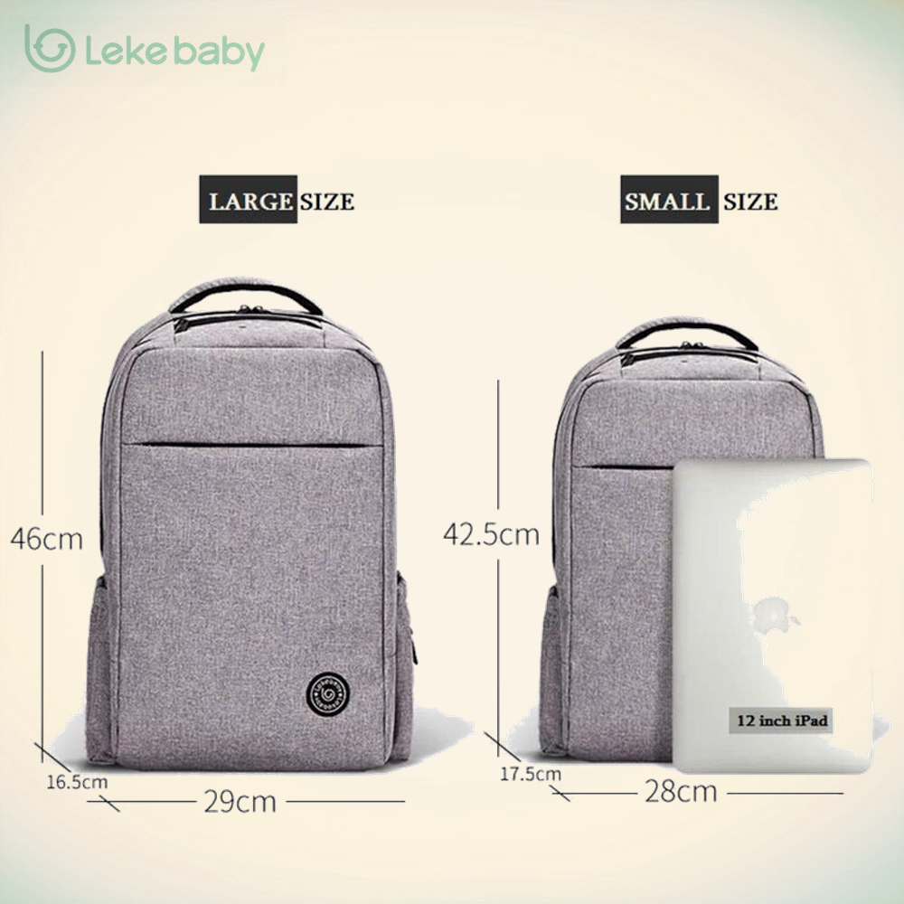 Lekebaby Baby Stroller Mummy Maternity mom daddy Travel Nappy Changing Diaper Tote Bag Backpack bags Organizer mochila maternal<br>