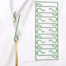 10pcs christmas ornaments hooks christmas tree decoration pendants santa claus new year gift hooks christmas decoration - Christmas Ornament Hooks