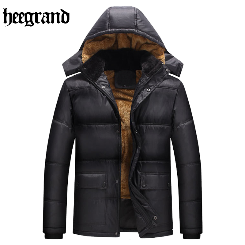 HEE GRAND New Winter Jacket Men Fashion High Quality Clothing Casual Men Thick Warm Down Cotton Jacket MWY239Одежда и ак�е��уары<br><br><br>Aliexpress