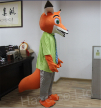 Zootopia Fox Nick Fancy Dress Adult Mascot Costume