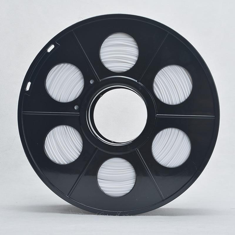 3D Printer PLA Plastic Filament 3mm Diameter 1kg Reel for 3D Printing PLA Printer Filament No bubble 115m White Tolerance 0.02mm<br><br>Aliexpress