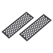 2Pcs Metal Sand Ladder Board Tools Parts Anti-skid Plate for 1/10 Gelande II D90 D110 Traxxas HSP Redcat HPI  RC Rock Crawler