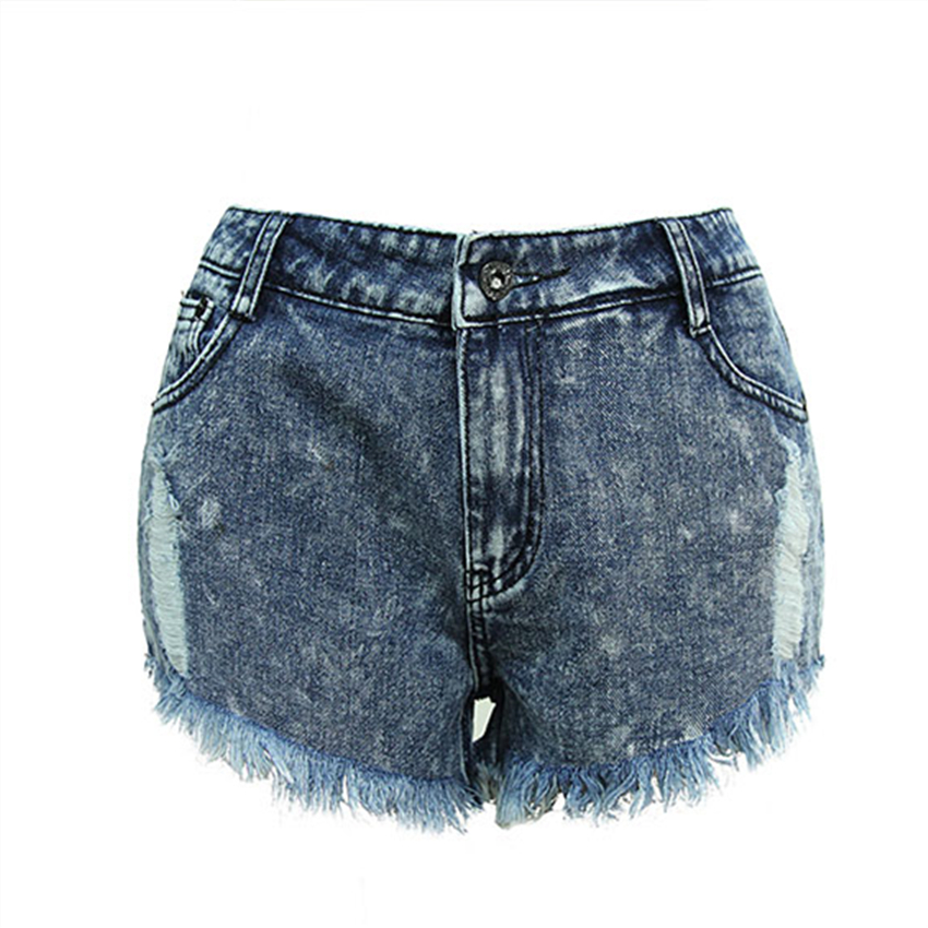 Europe Summer Fashion New Hole Irregular Tassel Short Jeans with High Waist Ripped Jeans for Women Plus Size S-2XL Hot ShortsОдежда и ак�е��уары<br><br><br>Aliexpress