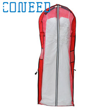 Coneed Storage Bag Cover Clothes Protector Case for Wedding Dress Gown Garment Protector organizer DROP SHIP