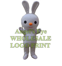 white bunny mascot costume easter rabbit custom adult size cartoon character cosplay carnival costume SW3359