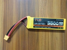 TCB RC airplane LiPo Battery 3s 11.1v 3500mAh 25c the best cell the lowest internal resistance and higher endurance