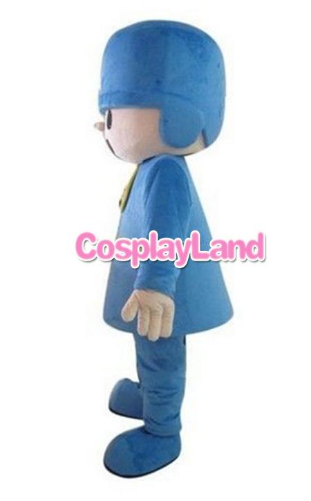 Pocoyo Mascot Costume, Cartoon Mascot Costume1