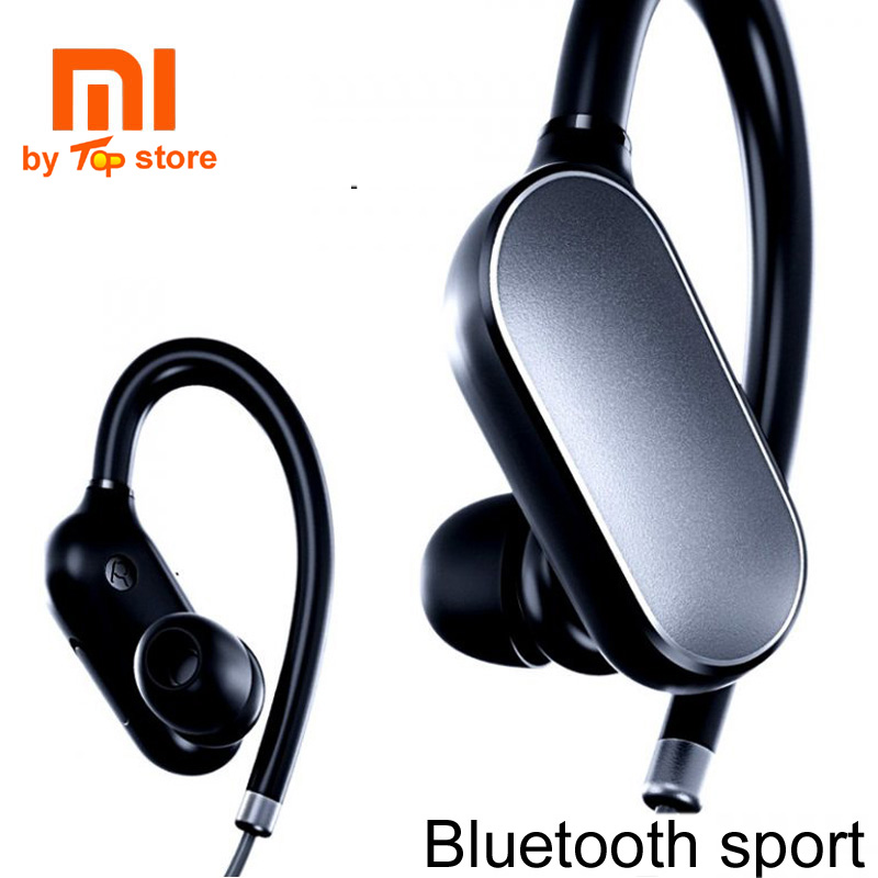 100% Original Xiaomi Mi Sports Bluetooth Headset, Xiaomi Wireless Bluetooth 4.1 Music Sport Earbuds Earphones with Mic<br>
