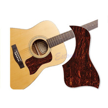 Free Shipping Healing Shield Acoustic Guitar Tortoise Shell Pickguard Style Marbling Protector