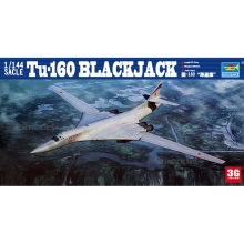 Trumpeter model scale model 1/144 scale aircraft 03906 Tu-160 BLACKJACK  assembly model kits scale airplane model kit