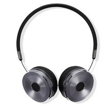 Cool 3.5mm Wired Stereo Headband Headphones Soft Leather Earcups Man Foldable Handsfree Headset with Special Storage Bag BH869