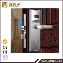 wireless Access control system hotel rfid card sensor digital lock