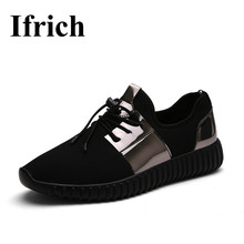 Ifrich Summer Sport Shoes for Men Black Couples Athletic Sneakers Men and Women Shoes Sports Big Size Girls Walking Shoes