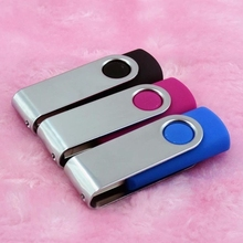 11colors Swivel Pendrive 512GB Usb Flash Drive Custom Logo Creativo Pendrive/Memory Stick/Disk On Key Gift 32GB 64GB 256GB 2.0