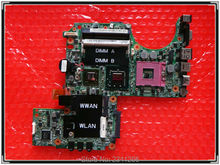 CN-0PU073 for DELL XPS M1330 0PU073 laptop motherboard for intel cup with G86-631-A2 upgrated graphic card free shipping