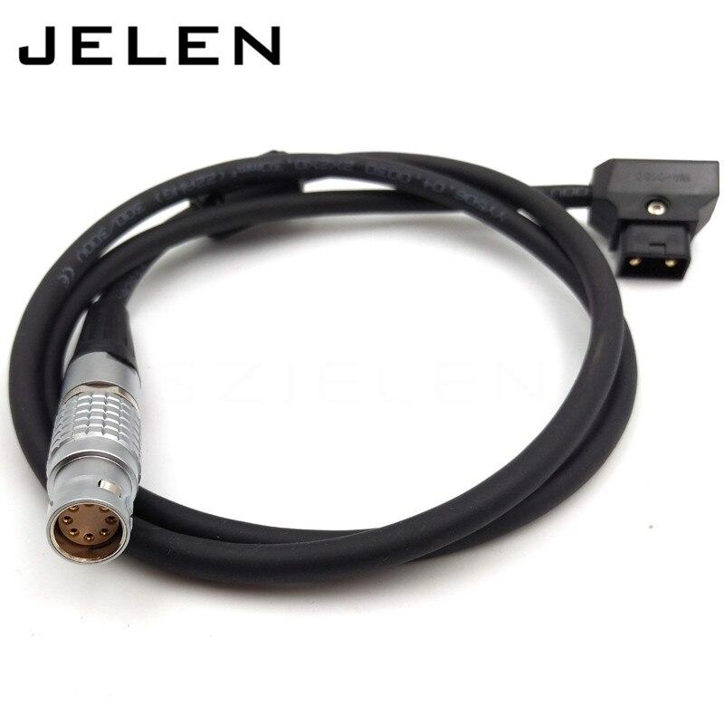 camera ARRI ALEXA MINI power cable, FGJ.2B.308.CLAD72Z , camera ALEXA MINI power plugs B type plug turn, Cable length 1M<br>