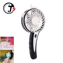 Hand Held Air Conditioning Air Cooler for Home Rechargeable Mini Ventilador for Outdoor Lucky Bird Table Fan USB Fans for Laptop(China)