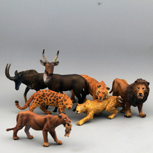 Exempt postage Model simulation in the wild animal toys Large artificial animal elizabethans rhino eco-friendly halfaway