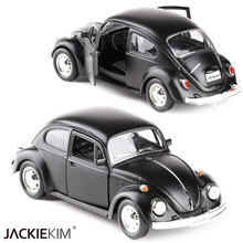 RMZ City 1/32 Volkswagen Beetle 1967 Alloy Diecast Classic Car Model Toy With Pull Back For Kids Christmas Gifts Toy Collection(China)