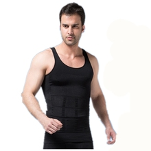 Foreign trade body Shapers vest slim lift men T shirt body sculpting clothing abdomen underwear Men Sleeveless Tops Tees Z2571