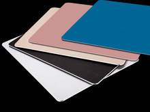 XL 300 * 230 mm Metal Mouse Pad for Mac ipad Laptop PC Computer Large Size Portable Metal Mouse Pad