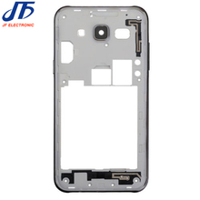10pcs/lot (2015 version) Middle Plate Frame Bezel Housing Cover with camera lens For Samsung Galaxy J5 J500 J500F J7 J700 J700F(China)