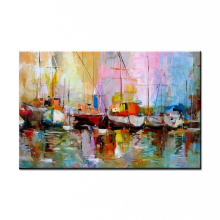 NEW 100% hand-painted Free shipping famous oil painting high quality Modern artists abstract painting WX15041503(China)