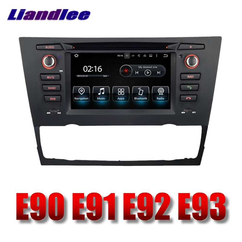 Liandlee Car Multimedia Player NAVI For BMW 3 E90 E91 E92 E93 2005~2013 With DVD BT Car Radio Stereo GPS Navigation Touch Screen 1