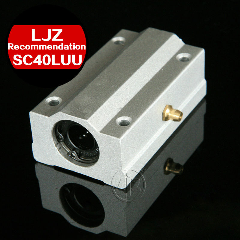 Linear motion ball slide units block bearings SC40LUU Bore size 40mm<br>