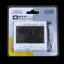 hygro thermometer digital thermometer hygrometer temperature and humidity gauge hygrometer test dc103 20pcs(China)