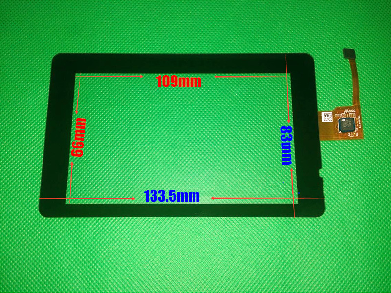 Original New 5 inch Capacitive Touch screen for GCH148ACA36 H148A-13-P120823-0022 touch digitizer panel GPS Navigation glass<br>