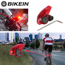 Buy BIKEIN Cycling Bicycle Portable Mini Brake Light Bike Tail Rear Lights Warning LED Light High Brightness Waterproof Red LED Lamp for $3.33 in AliExpress store