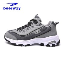 Deerway Winter Shoes For Women 2017 Plus Fluff Keep Warm Outdoor Snow Boots Anti-Slippery Brand Sneakers Running Shoes For Femal(China)
