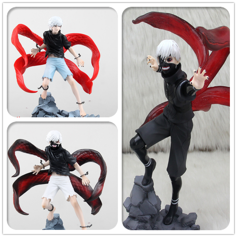 PVC Anime Tokyo Ghoul Figure Kaneki Ken Action Figures Touka Kirishima Manga Shuu Tsukiyama Uta Figuras Toys<br><br>Aliexpress