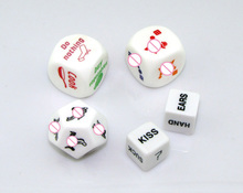 Sweet Weapons 5 in 1 Sex Dices 5 Designs/Lot Erotic Dice Sex Toys for Couples, Foreplay Flirty Sex Products Adult Party Games